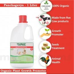SRE Panchagavya - Organic Plant Growth Promoter( 1 Liter)